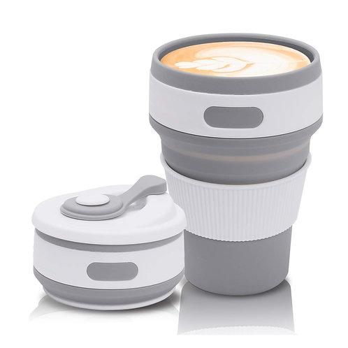 Tacita retráctil para café