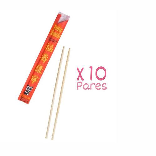 Palitos chinos x 10 pares
