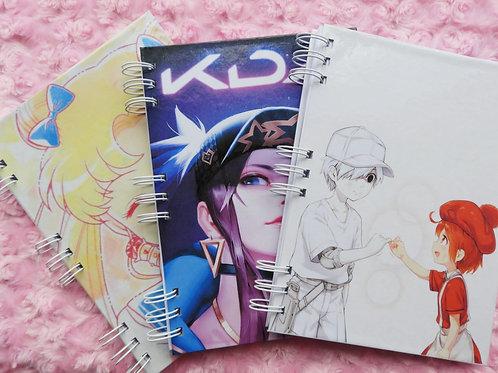 Set de 3 cuadernos