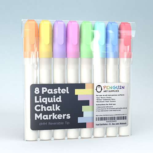 Pastel Chalk Markers