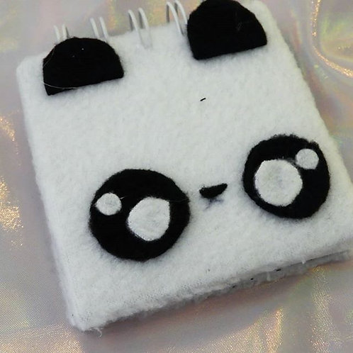 Mini libreta Fluffy Panda