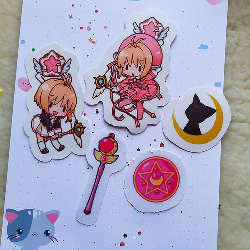 Stickers magical girls