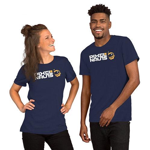 PixelNAUTS Dark T-Shirts (Bright Logo)