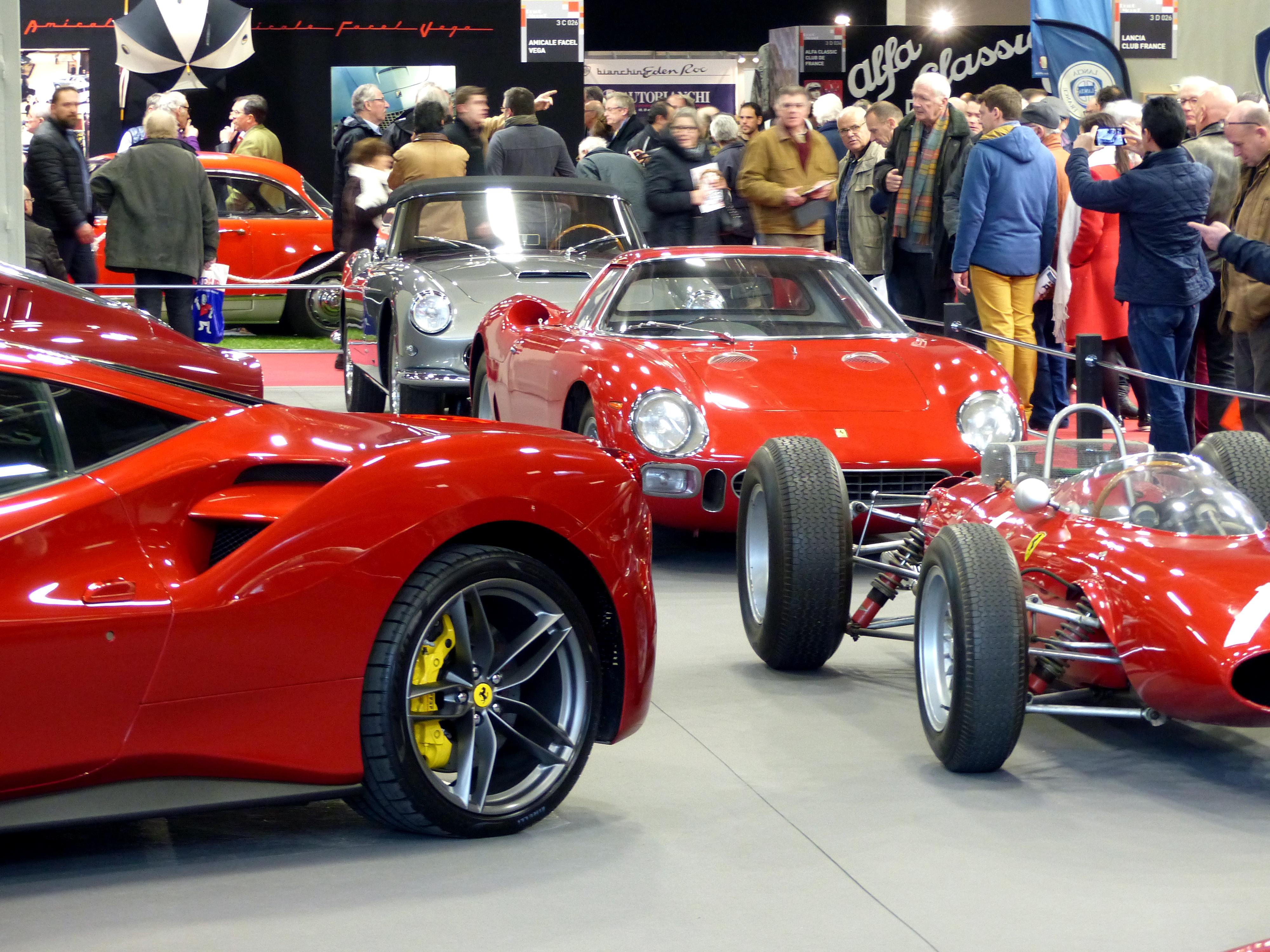 Le coin Ferrari.