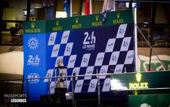 Podium Le Mans 2017