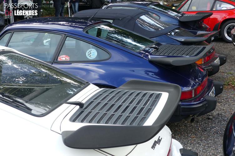 Trio de Porsche