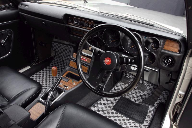 Intérieur Nissan Skyline GT-R KPGC10