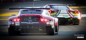Ferrari Porsche Le Mans 2017