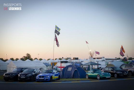 Camping des anglais Le Mans 2017