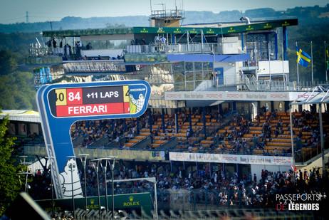 Tribunes Ligne Droite Le Mans Circuit 24 Heures du Mans