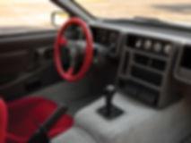 Intérieur Ford RS200