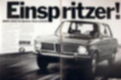 Publicité BMW 2002 tii