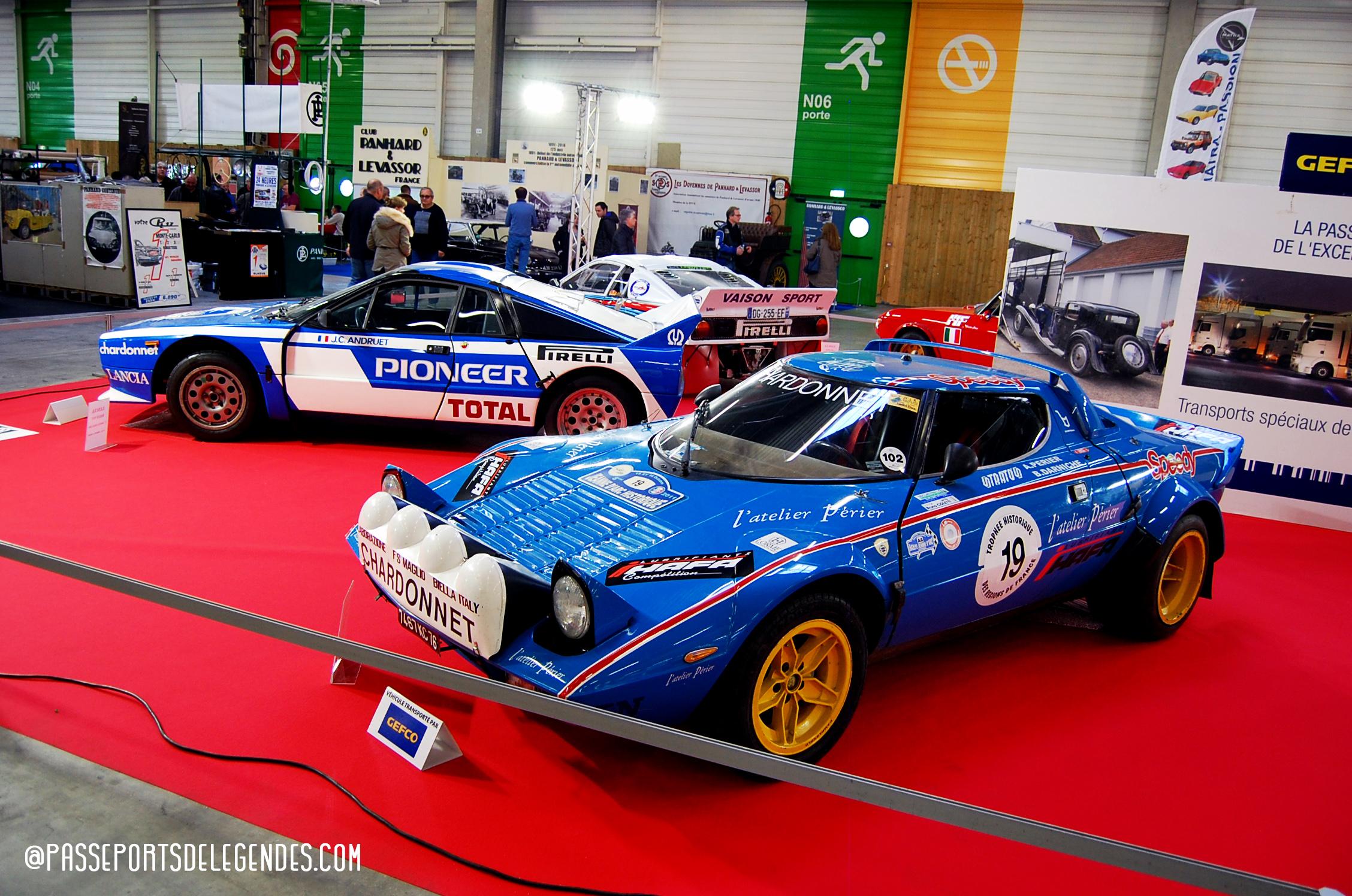 Trio de Lancia version Monte Carlo