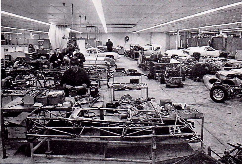 Chaîne Production Lotus Hethel