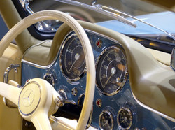 Le luxe version Mercedes 300 SL.