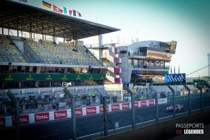 Ligne droite Le Mans 2017