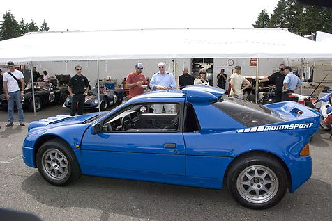 Ford RS200 Bleue