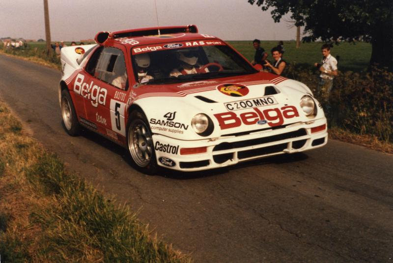 Robert Droogmans Ford RS200