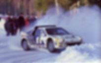 Kalle Grundel Benny Melander Ford RS200