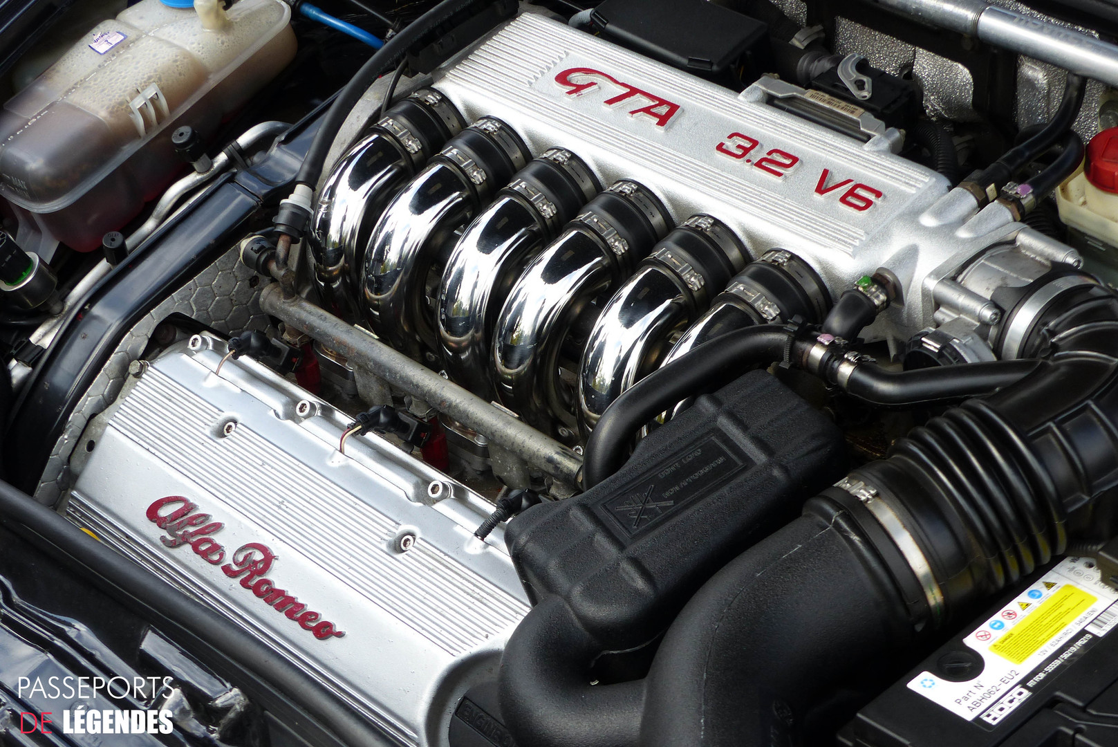 Alfa Romeo 147 GTA Moteur