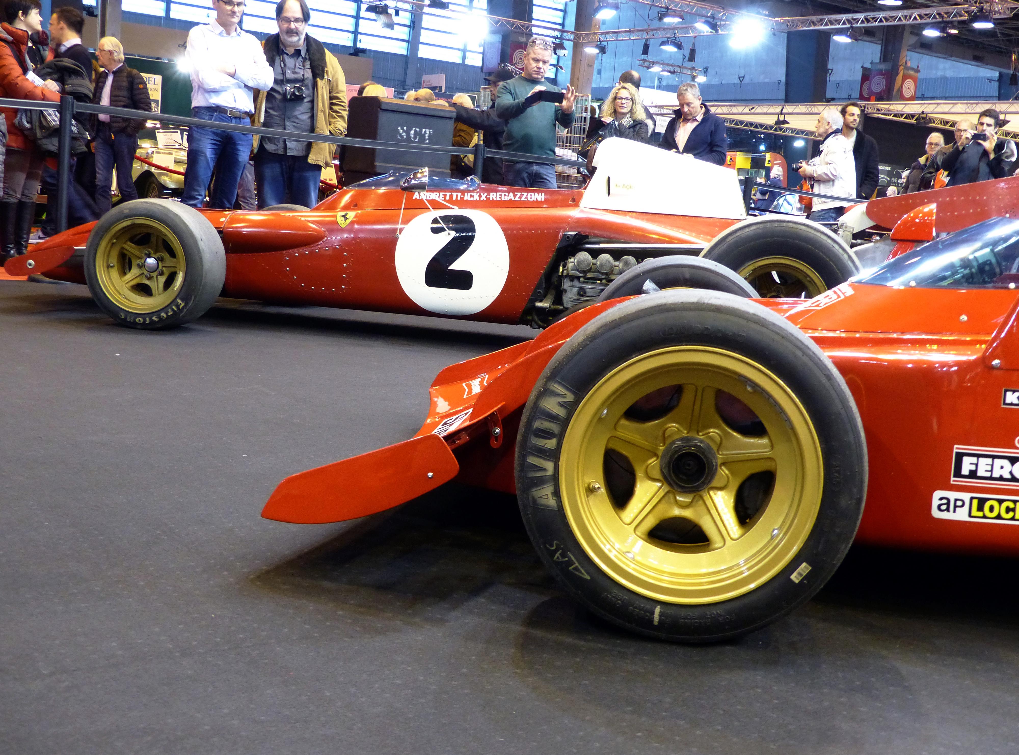 Les Formule 1 de Maranello.