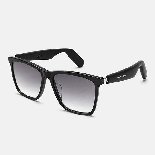 Smart Audio Sunglasses(2nd Gen): ACE Square Frame - Nylon Lens - Dark Gray
