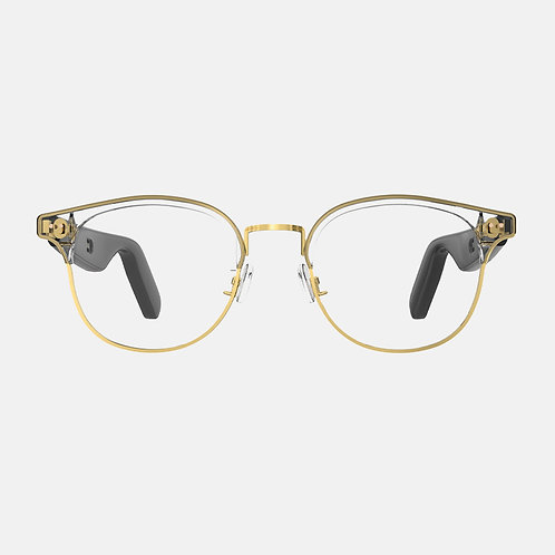 ACE+Steel Clubmaster Frame  - Plano lens