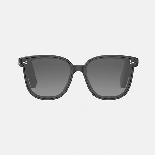 TWS Smart Audio Sunglasses-ACE Round Square-Nylon Dark Gray Lenses(1st Gen)