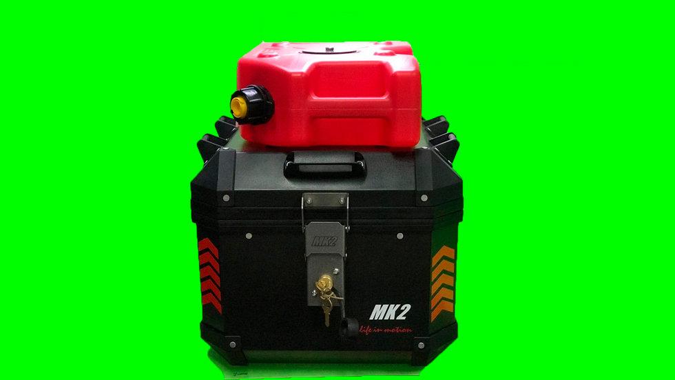 Baul 42 Litros Mk2 + Bidon 8 Litros Combustible