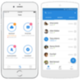 Simpler Contacts for iOS and Android, smart contacts manager merge duplicate contacts backup your contacts, manage groups, send group text, group email and dial quickly