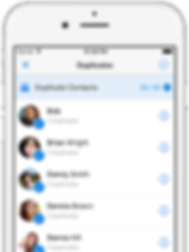 Simpler Contacts - Merge duplicate contacts automatically duplicate phone and duplicate emails