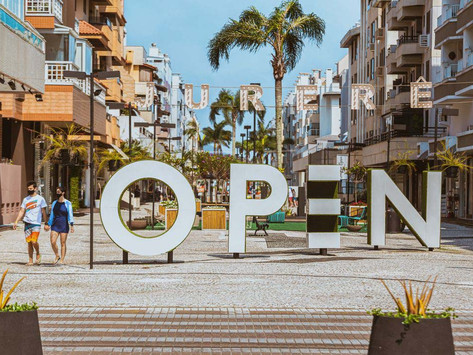 Jurerê Open Shopping oferece música, atividades físicas e atrações para as crianças