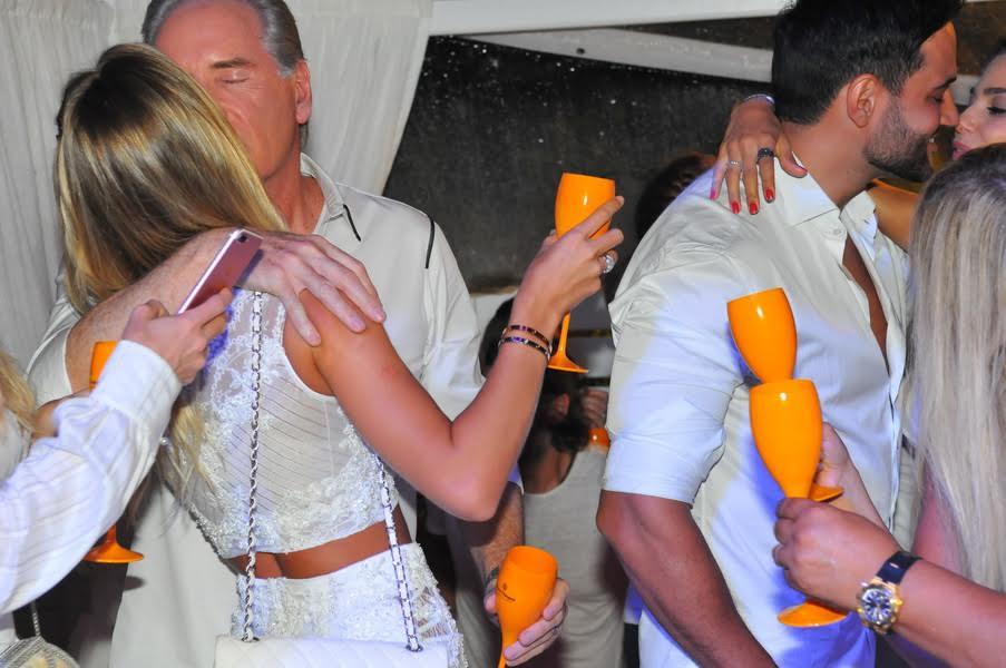 Roberto Justus e esposa Ana Paula Siebert - Foto: Cassiano de Souza