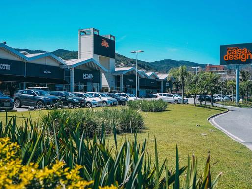 Shopping Casa & Design informa que já está operando com 80% da capacidade