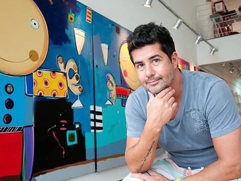 Luciano Martins inaugura galeria no Shopping Iguatemi Florianópolis