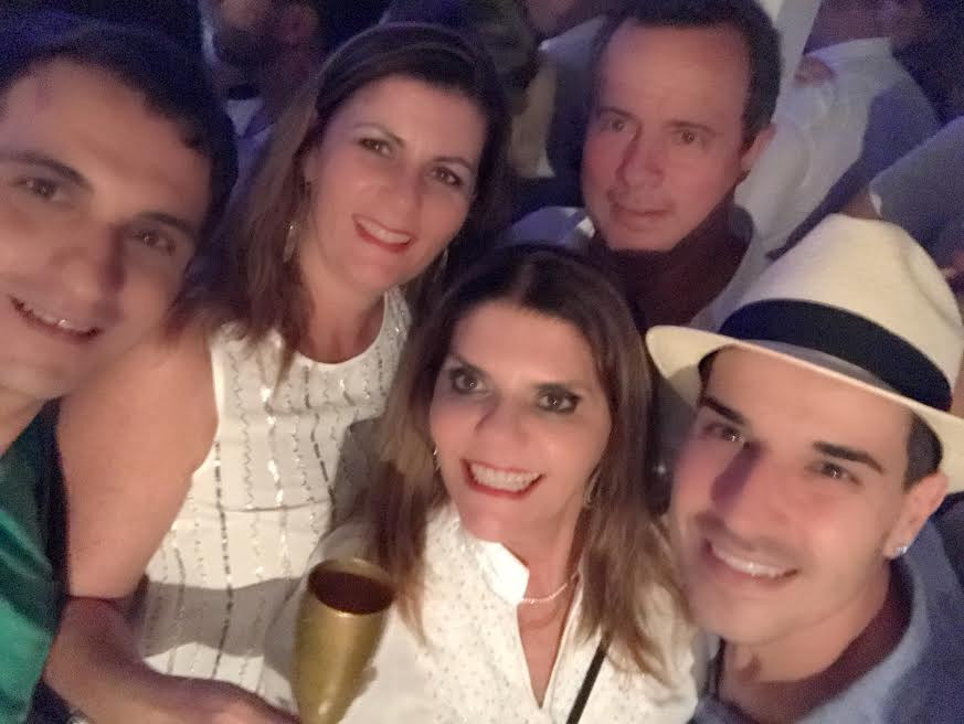 Douglas Ferreira, Joyce e Ealiane Koerich e Hugo Alencar
