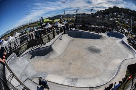 É de Floripa a maior pista de skate do Sul do país
