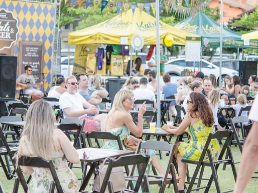 4º Arts & Beer: música, gastronomia, cervejas artesanais e cultura no Jurerê Open Shopping