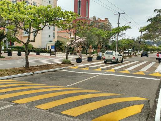 PIQD recupera faixa de pedestre na Avenida dos Búzios