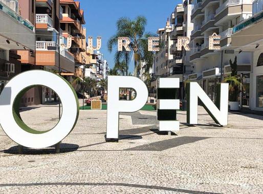 "Jurerê Open Shopping lança campanha""O seu Shopping a Céu Aberto"""
