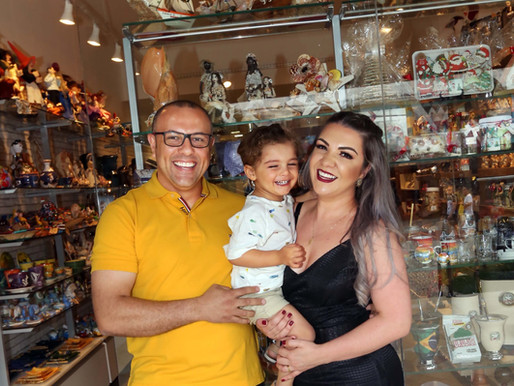 Casal de empreendedores mantém vivo o artesanato catarinense