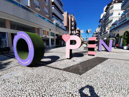Picnic, música e exposição de arte marcam o Dia dos Namorados no Jurerê Open Shopping