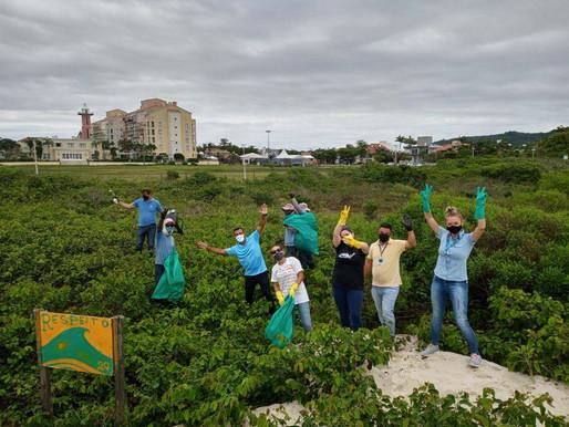 Ação Lixo Zero de Jurerê Internacional promove conscientização ambiental