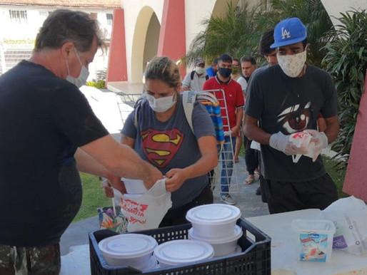 Jurerê Internacional está arrecadando doações para profissionais de saúde e comunidades vulneráveis