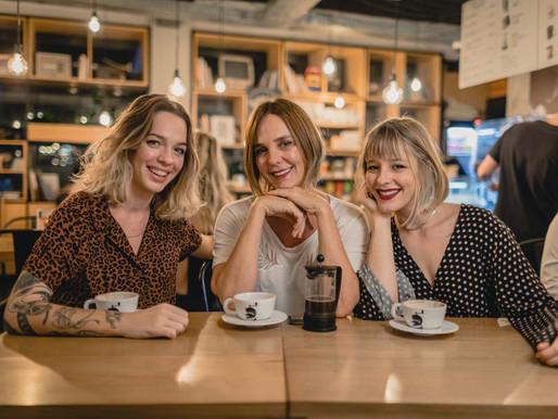 Daniela Koerich inaugura franquia do Café Cultura no Beiramar Shopping