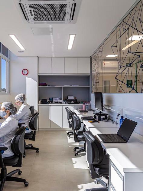 Laboratório para testes em massa da Covid-19 foi projetado e executado em apenas 40 dias