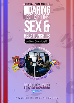 Daring Discussions | Sex & Relationships Game Night