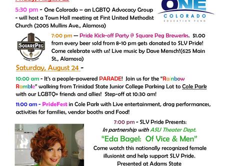 SLV's Inaugural PrideFest!!