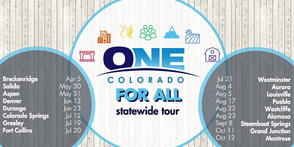 One Colorado Town Hall presentation