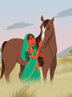 Banna Bai's Horses